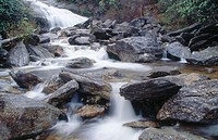 Upper Falls. Graveyard Fields. North Carolina. USA