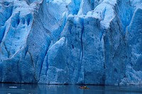 aquatic sports, water sports, Bear Glacier, British Columbia, Canada, North America, America, canoe, cold, glacier,
