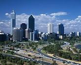 Australia, city, Perth, skyline, streets, town, western Australia
