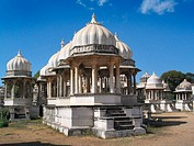 Tomb of the Maharanas of Udaipur. Rajasthan. India