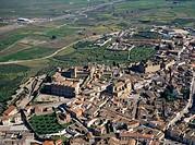 Aerial view of Oropesa. Toledo province. Castilla-La Mancha. Spain