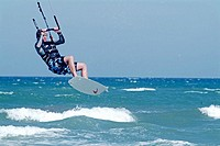 Kitesurfing