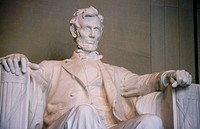 Lincoln Memorial statue. Washington D.C. USA