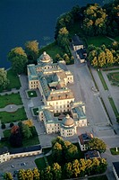 Drottningholm Palace, home of the Swedish royals. Stockholm, Sweden