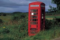 scotland, telephone booth