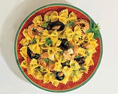 farfalle with shell-fish