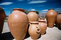 Clay jars. Calchaquies valleys. Argentina