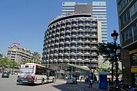 Plaça Francesc Macià. Barcelona. Spain