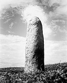 Lia Fail, 'The Stone of Destiny' at the Hill of Tara, Ireland