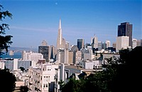 Skyline. San Francisco, California. USA