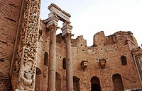 Lybia: Leptis Magna was enlarged and embellished by Septimius Severus, who was born there and later became emperor. It was one of the most beautiful c...