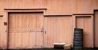 Garage. Turners Falls, Massachusetts. USA