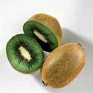 Whole Kiwi and Cut Kiwi