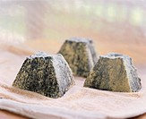 Valençay cheese (fresh goat´s cheese covered in ash, Indre)