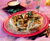 Chicken in tarragon cream