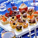 Assorted savoury party snacks (1)