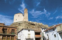 Church of San Miguel. Paracuellos de Jiloca, near Calatayud. Zaragoza province, Spain