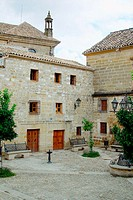 Little square. Úbeda. Jaén province, Spain