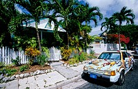 Local house in Key West. Florida, USA