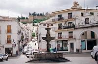 San Sebastián square. Antequera. Málaga province, Spain