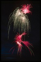 Fireworks. Colorado Springs, Colorado, USA