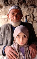 Craftsman and daughter. Istanbul, Turkey