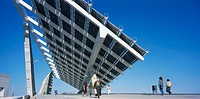 Photovoltaic pergola (3700 m2), Forum 2004. Barcelona. Spain