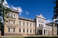 Neo-classical manor house. Plunge. Lithuania