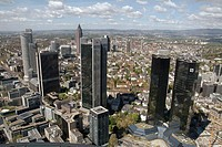 Bank buildings. Frankfurt am Main. Germany