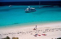 Boats at Rottnest Island, Australia