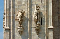 Italy. Lombardy. Milan. Duomo (Cathedral)