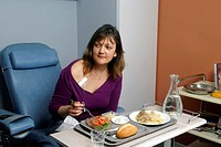 CHEMOTHERAPY<BR>Photo essay from hospital.<BR>Woman with cancer.