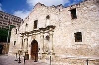 The Alamo. San Antonio. Texas, USA
