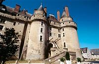 Castle. Langeais. Val-de-Loire, France