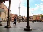 Square. Medina del Campo. Valladolid province. Castilla y León. Spain
