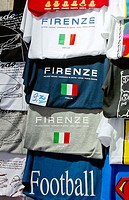 T-shirts. Florence. Tuscany, Italy