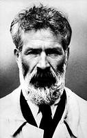 Brancusi, Constantin 21.2.1876 - 16.3.1957,  rumän. Bildhauer, Portrait,   Mann mit Bart, Vollbart, Künstler
