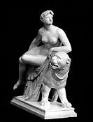 Ariadne, griech. Göttin der Jagd und der  Fruchtbarkeit von Tiere und Menschen, Statue von Johann Heinrich von Dannecker (1758 - 1841), Ariadneum, Fra...