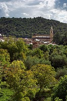 Alájar, town in Sierra de Aracena y Picos de Aroche Natural Park. Huelva province, Spain