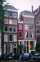 The narrowest house in Amsterdam. 166 Singel street. Amsterdam. Netherlands