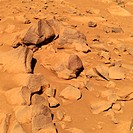 Toltecs. Group of Martian volcanic rocks known as Toltecs. These rocks are typical of those in the area and they will be used as a basis of comparison...
