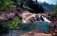 Berkelah Waterfall, Malaysia
