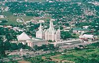 Philippines. Manila. Mormon temple.