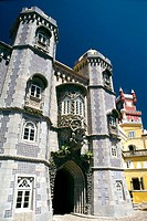 Pena Palace. Sintra. Portugal