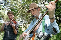 South Florida Bluegrass Association, monthly festival. North Miami Beach. Florida. USA.