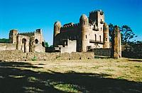 Emperor Fasilidas´ Palace. Gonder. Ethiopia.