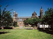 Germany, Rhineland-Palatinate, Worms, St. Peter Cathedral