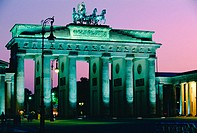 Brandenburg Gate. Berlin. Germany
