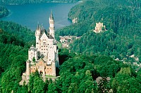 Neuschwanstein. Germany