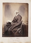 A photographic portrait of Arthur Penrhyn Stanley (1815-1881), taken by an unknown photographer in about 1855.  Stanley was a renowned scholar and the...